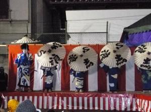 子供歌舞伎の「白波五人男」