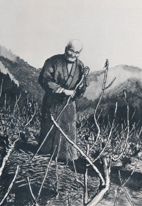 戸井昌造さんの描いた「新井九十二翁」