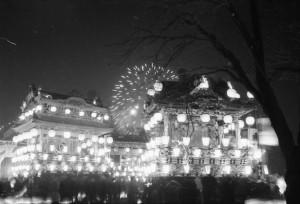 浅見さん撮影の50年前の「秩父夜祭」